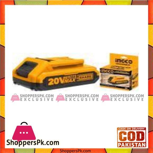 INGCO 20V Lithium-Ion Battery Pack - FBLI2001