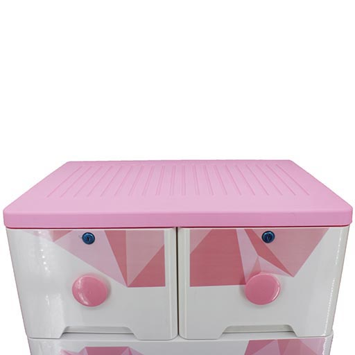 4+2 DRAWERS AND LOVE PINK HANDLE 3035A