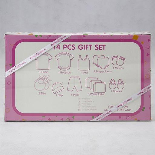 GIFT SET HALF SLEEVES BOX PRINTED 14PCS SET