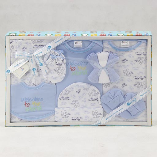 GIFT SET HALF SLEEVES PRINTED BOX 10PCS SET