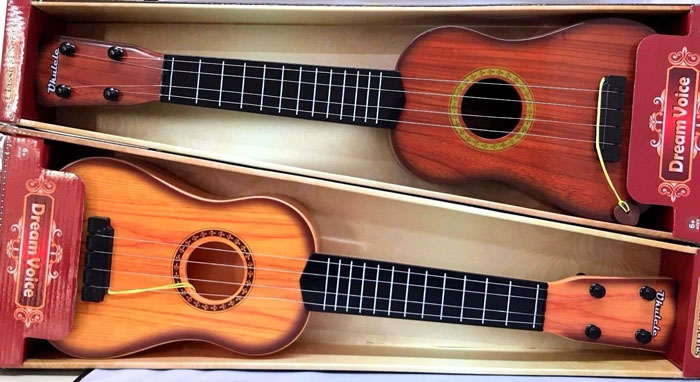4 Strings Dream Voice Guitar for Kids Music Musical Learning Development Toy