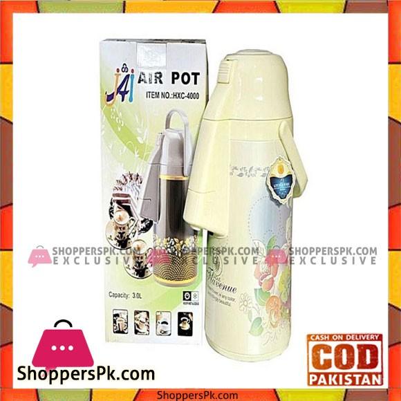 Air Pot Vacuum Flask Thermos - 3.0L