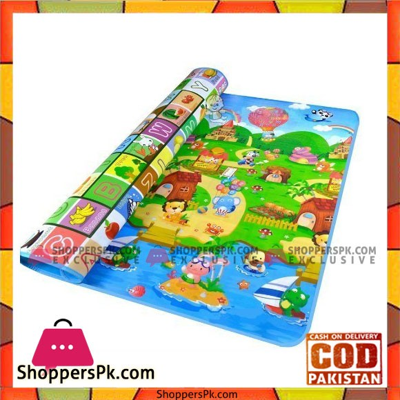 Baby Care Play Mat Crawl Mats Carpet Animals Large 59 x 70 Inch