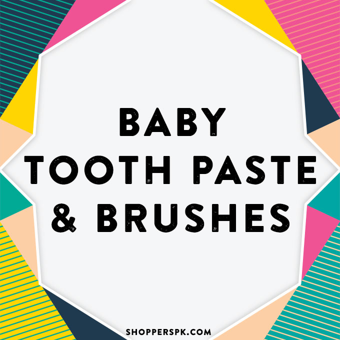 Baby Tooth Paste & Brushes