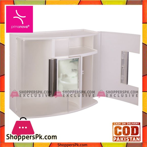Primanova Bath Cabinet with Rotating Mirror Turkey Made 9316
