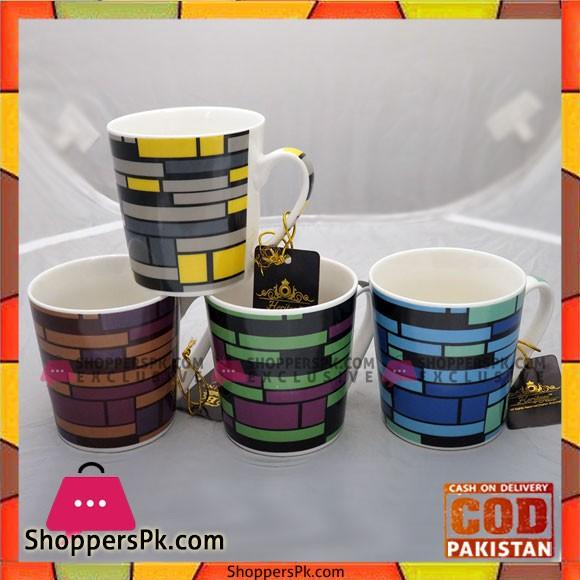 Bilton Mug Bricks 6Pcs Set