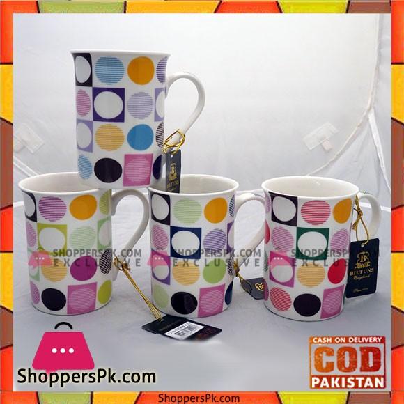 Bilton Mug Dots 6Pcs Set