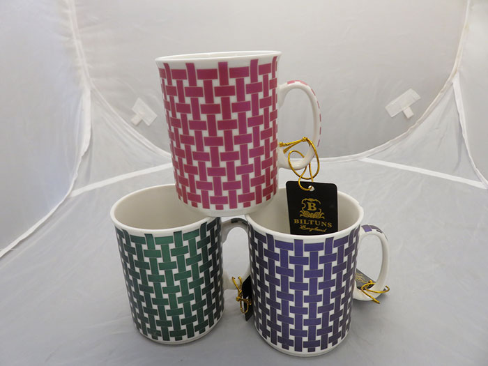 Bilton Mug Metallic Sq 1 pcs