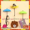 Decorative Umbrella Creative Wall Hook 3 Pcs Set