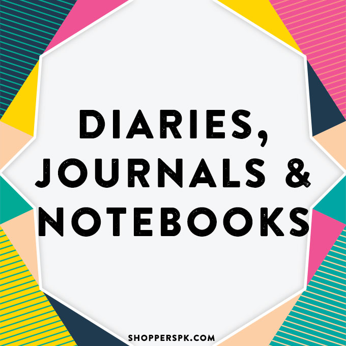 Diaries, Journals & Notebooks in Pakistan