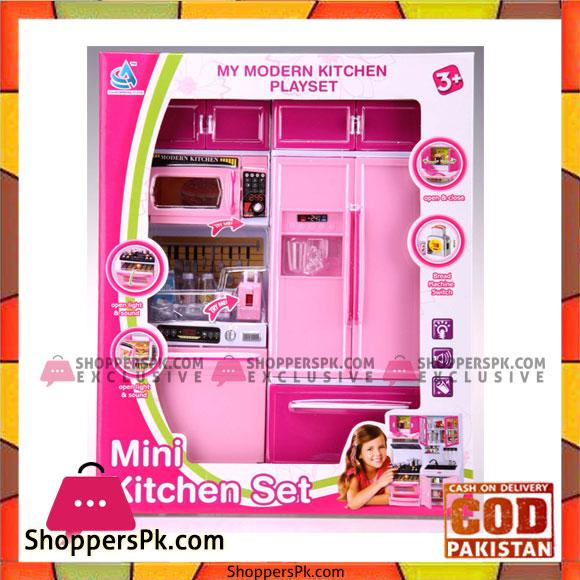 Doll Mini Kitchen Set
