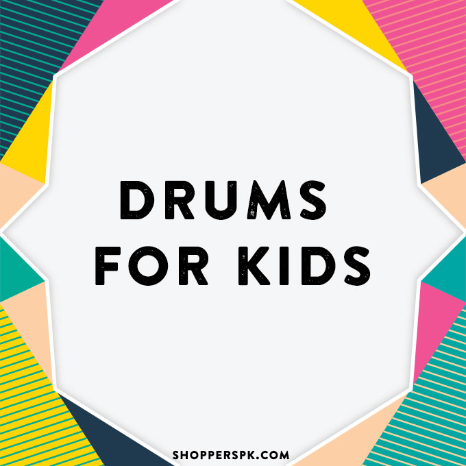 Drums for Kids in Pakistan