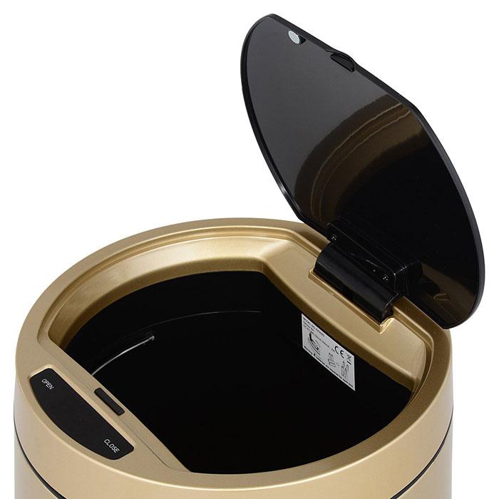 EKO 35 liter Docomo Sensor Bin Stainless Steel Trash Can EK9285CG