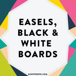 Easels, Black & White Boards