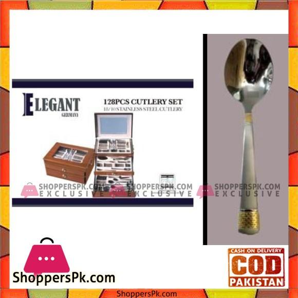 Elegant 128Pcs Cutlery Set - EL128W G