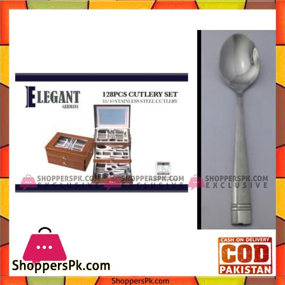 Elegant 128Pcs Cutlery Set - EL128W S