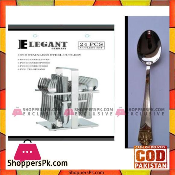 Elegant 24Pcs Taj Cutlery Set