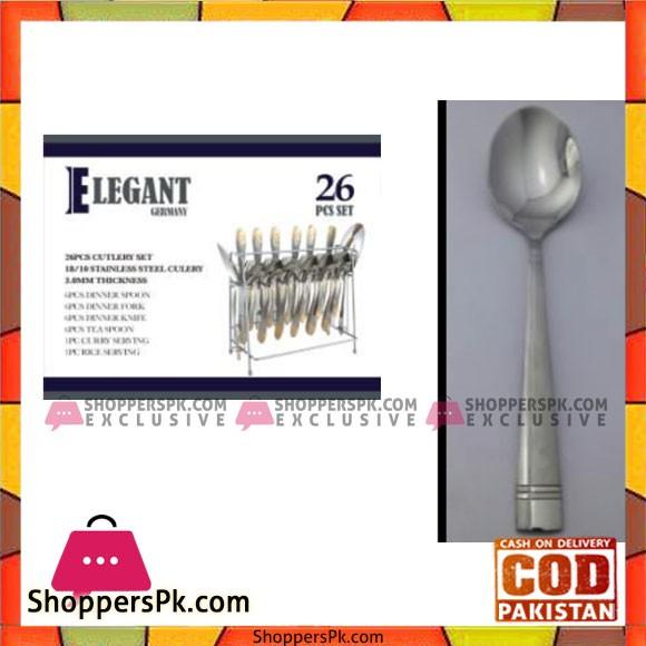Elegant 26Pcs Slideline Cutlery Set – EL08 S