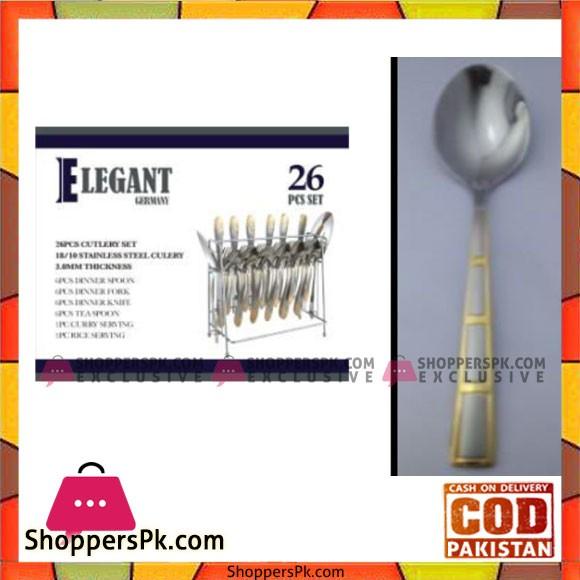 Elegant 26Pcs Stair Cutlery Set – EL09 G