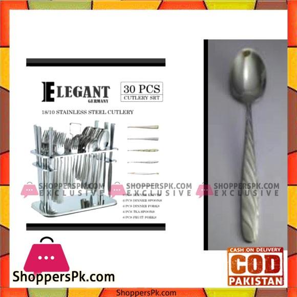 Elegant 30Pcs 4Lines Cutlery Set - BB0006