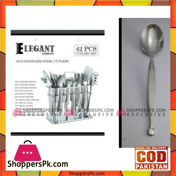 Elegant 42Pcs BsDot Cutlery Set - CC0004