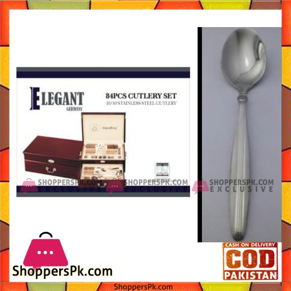 Elegant 84 Pcs Cutlery Set - EL84W12