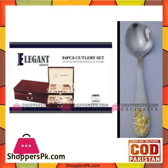 Elegant 84Pcs Cutlery Set – EL84W01
