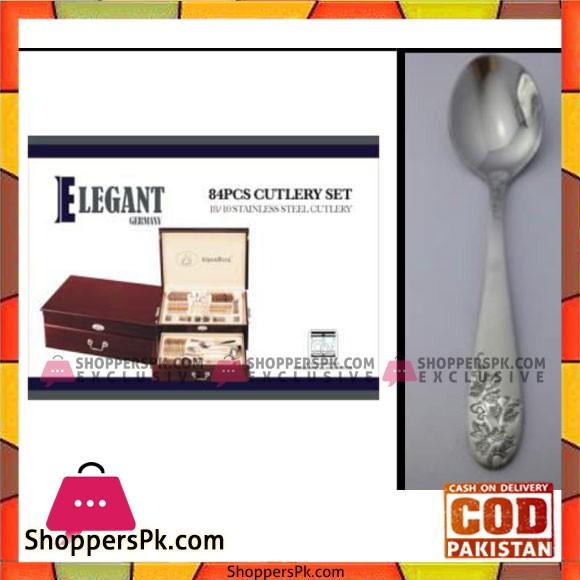 Elegant 84Pcs Cutlery Set – EL84W02