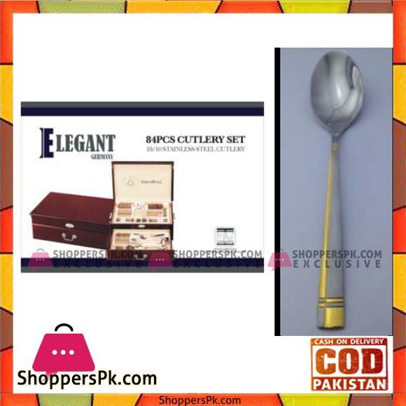 Elegant 84Pcs Cutlery Set – EL84W07
