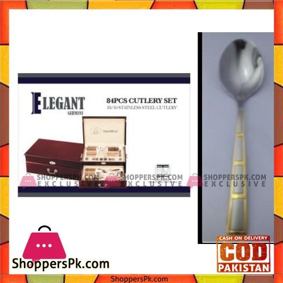 Elegant 84Pcs Cutlery Set – EL84W09