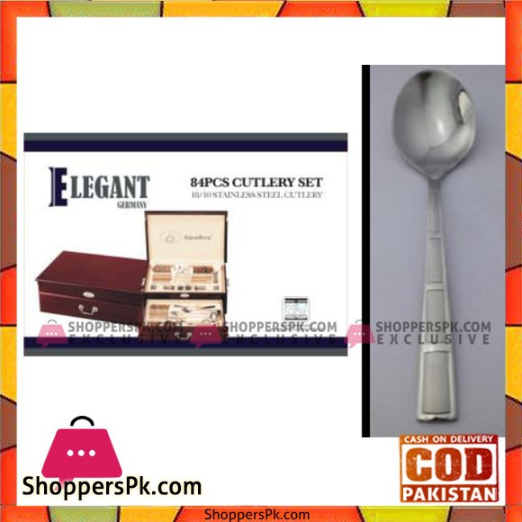 Elegant 84Pcs Cutlery Set – EL84W10