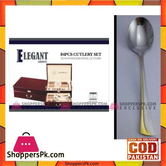 Elegant 84Pcs Cutlery Set - EL84W03