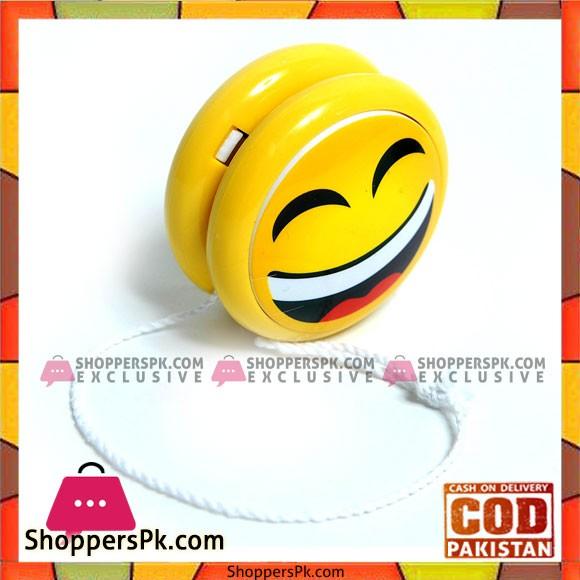 Emoji Faces Yo yo With Light Up Function