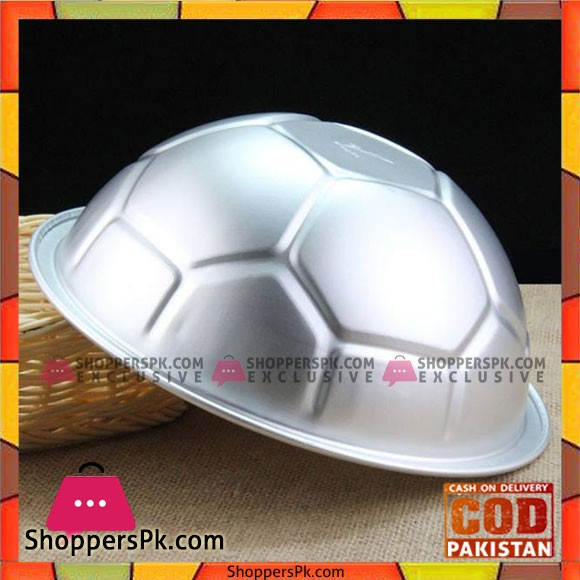 Footable Cake Mold Aluminum Ball Shape