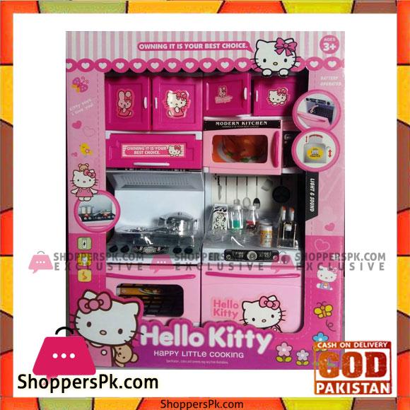 Hello Kitty Battery Operated Modular Kitchen Set For Kids
