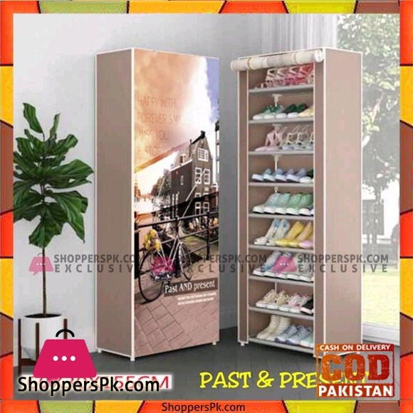 High Quality Shoe Rack with NonWoven Fabric Dust Cover