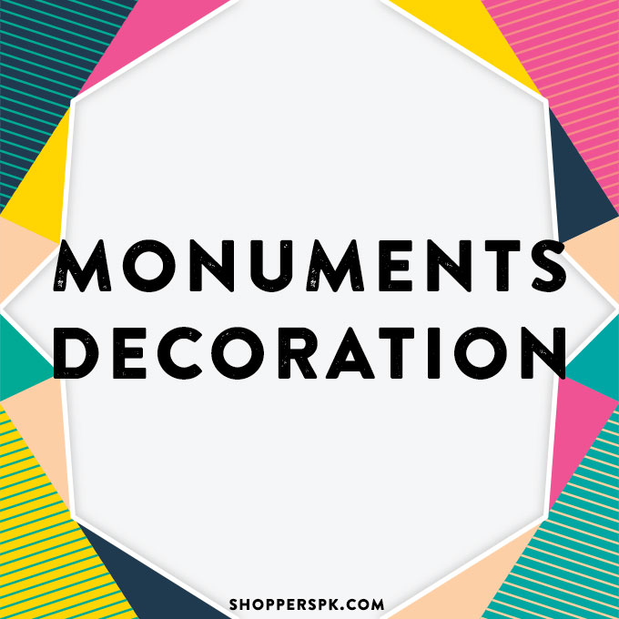 Monuments Decoration