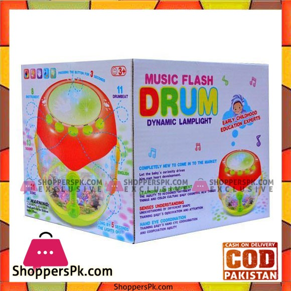 Music Flash Drum Dynamic Lamplight