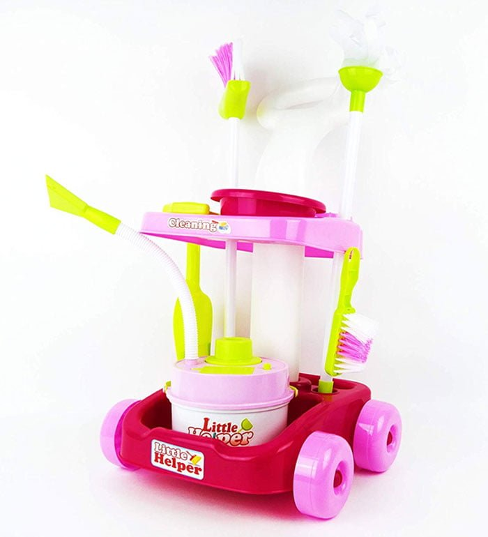 My Cleaning Housekeeping Trolley Little Helper Playset Toy 667-36