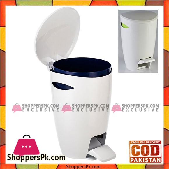Primanova 5 Liters Fely Waste Bin With Inner Basket E04 Turkey Made