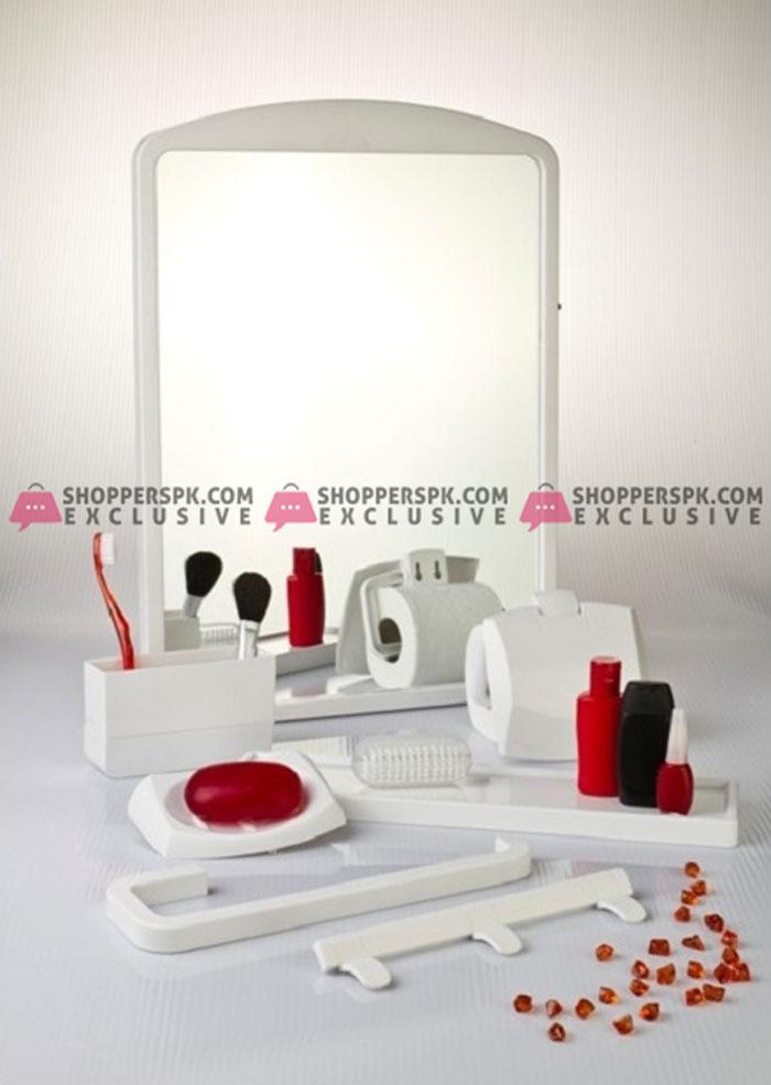 Primanova Bathroom Mirror Set 7 Pieces Turkey Made 2801