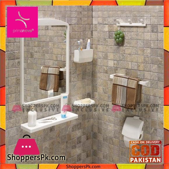 Buy Primanova Bathroom Mirror Set 7 Pieces Turkey Made 2801 At Best Price In Pakistan