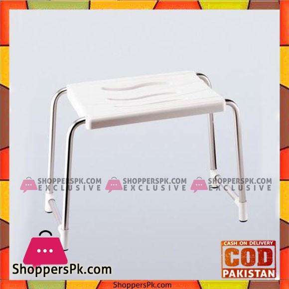 Primanova Bathroom Stool White - KV02-01