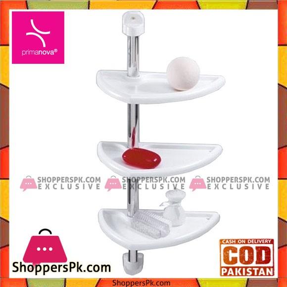 Primanova Multi Purpose Bathroom 3 Shelves Shower Caddy N16