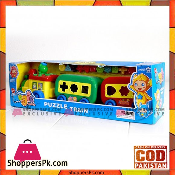 Puzzles Train For Kids