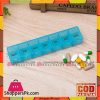 Rectangle week 7 day clear plastic pill box Organizer