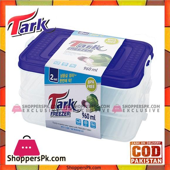 Tark Food Container 2Pcs Set 960ml
