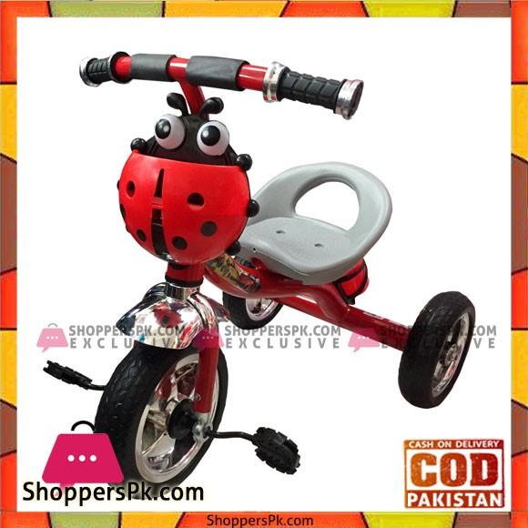 Tricycle With Music Ladybug