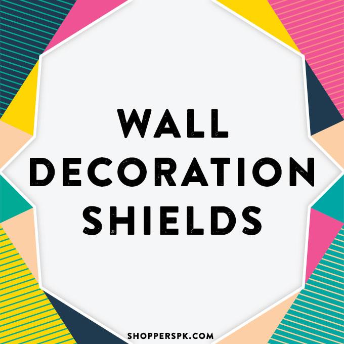 Wall Decoration Shields