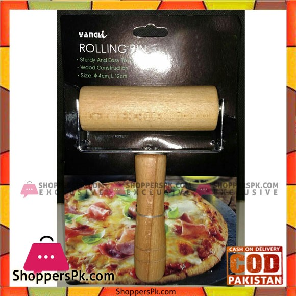 Yangli Wooden Pastry Pizza Roller Pin Non Stick Rolling Pin for Baking